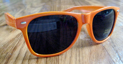 orange wayfarer